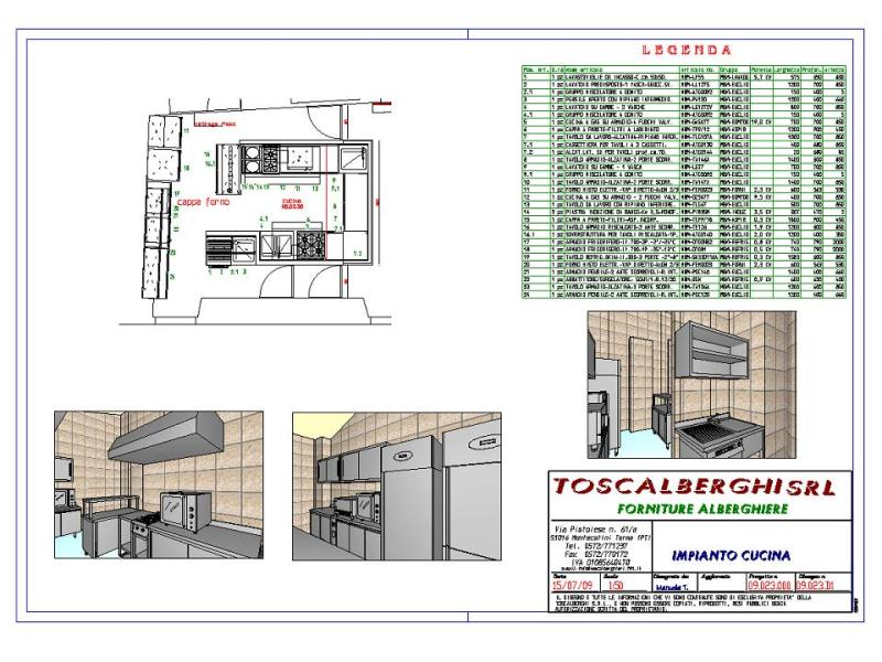 Emejing Layout Cucina Ristorante Contemporary - Ideas & Design ...