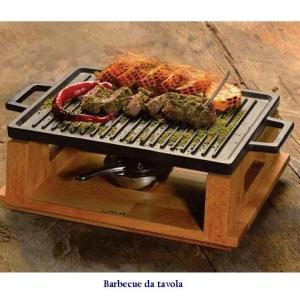 barbecue da tavola